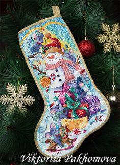Cross Stitch Christmas Stockings, Cross Stitch Stocking, Christmas Stocking Pattern, Cross Stitch Tree, Xmas Stockings, Christmas Cross, Cross Stitch Designs, Cross Stitch Patterns, Christmas Tree Embroidery Design