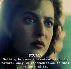 One of my favourite quotes - where her faith and science intersect.