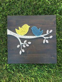Birds - String Art.  By, Sirena Johnson