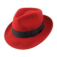cd4bb26d Jaxon Hats Pachuco Fedora Jaxon Hats, Red Hats, Fedora Hat, Caps Hats,