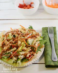 thai chicken salad w