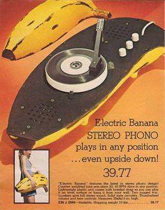 Andy Warhol banana record player