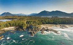 Postkarte von Vancouver Island