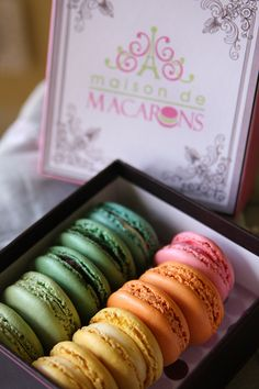 Maison de Macarons in Savannah, GA