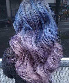 FUCK YEAH COLORED HAIR ♥ : #ombrehair #pastelhair