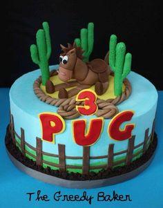 Bullseye Cowboy Cake!