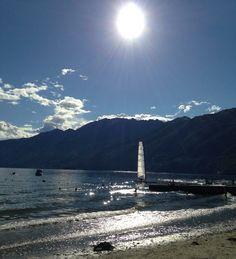 Lido di Ascona. Ticino-Switzerland