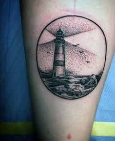 small-simple-mens-circle-lighthouse-tattoos.jpg 486×600 pixels