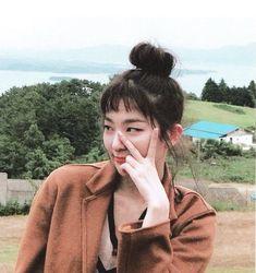Kang Seulgi, Red Velvet Seulgi, I Icon, My Little Girl, Coral Pink, Ulzzang Girl, Girl Crushes, Kpop Girls, Celebrities
