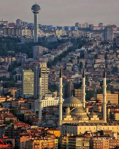 Turkish Architecture, Urban Architecture, Ankara, Seattle Skyline, Paris Skyline, Turkey Travel, Urban Photography, Capital City, Nice View