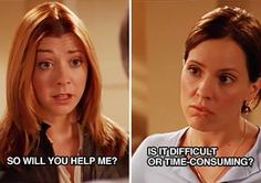 """24 Times Anya From """"Buffy The Vampire Slayer"""" Was Actually You"""