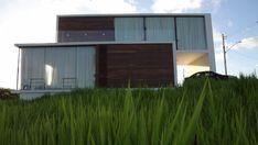 Casa ecológica mixa o tropical e o moderno
