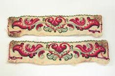 Nordic Vikings, Scandinavian Design, Needlework, Cuff Bracelets, Museum, Belt, Embroidery, Dolls, Stitches