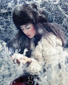 Snow Surrender, Vogue Girl January 2012