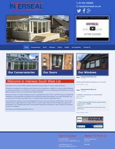 Are you building or renovating your home? For expert window, door and conservatory fittings services in Plymouth, call our specialist team on 01752 Retail Websites, Double Glazed Window, Conservatory, Windows And Doors, Plymouth, Mansions, House Styles, Gallery, Building