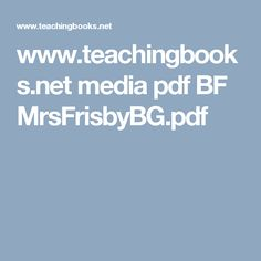 www.teachingbooks.net media pdf BF MrsFrisbyBG.pdf