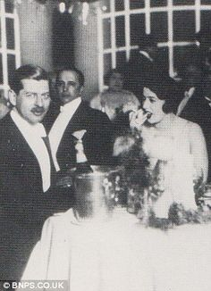 King Carol II of Romania with his mistress Elena Lupescu on the Riviera. The playboy King abdicated 10 years after ascending to the throne, forming a relationship with Miss Lupescu and moving to Portugal where they married. Princess Victoria, Queen Victoria, Romanian Royal Family, Princess Alice, Princess Alexandra, Shady Lady, Falling Kingdoms, Blue Bloods, Queen Mary