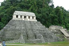 The Palenque Temple of Inscriptions was begun perhaps as early as 675 as the funerary monument of Hanab-Pakal. The temple superstructure houses the second longest glyphic text known from the Maya world (the longest is the Hieroglyphic Stairway at Copan). The Temple of the Inscriptions records approximately 180 years of the city's history from the 4th through 12th K'atun.
