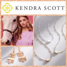 Spring 2018 Kendra Scott is here! Come check it out!! #KelleyJewelers #KendraScott #DowntownWeatherfordOK #KSSpring18
