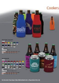Summer Koozies Cool your drink and yourself off!