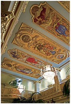 New Murals, French Lick Springs Resort and Casino, French Lick Springs, Indiana