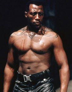 Wesley Snipes: Blade movie picture but a great karate expert and the first at bringing 5 remaining master experts together at an event in NY City at the time of the event for the first time ever.