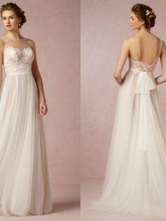 BHLDN Penelope Size 6 Wedding Dress – OnceWed.com