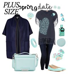 """""""plus size"""" by manueladimauro ❤ liked on Polyvore featuring Jayley, Vince Camuto, Old Navy, Chloé, aprico, Smith & Cult, Swarovski, Dettagli, Aquaswiss and springdate"""
