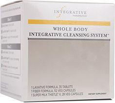 Integrative Therapeutics - Whole Body Integrative Cleansing System - 3 Product Kit for 2 Week Internal Cleanse - Promotes Detoxification of Body - 1 Kit Herbal Weight Loss, Milk Thistle, Health And Beauty, Cleanse, Promotion, Kit, Special Deals, Image, Amazon