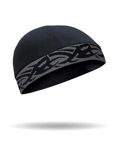 a81147d4640 CoolMax® Cool Cap™ Black Tribal on Grey