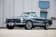 1969 Mercedes-Benz 280SL Maintenance/restoration of old/vintage vehicles: the material for new cogs/casters/gears/pads could be cast polyamide which I (Cast polyamide) can produce. My contact: tatjana.alic@windowslive.com