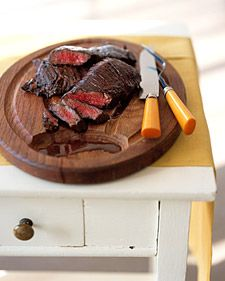 Balsamic Marinated skirt steak