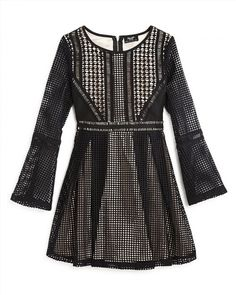 89.96$  Buy here - http://viqpc.justgood.pw/vig/item.php?t=tx9zva31107 - Bardot Junior Girls' Panelled Grid Dress - Sizes 8-16