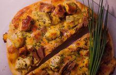 Pizza de atún y alcachofas