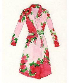 Virginia Johnson dress illustration