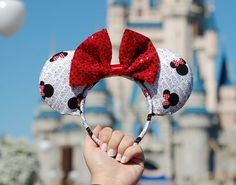 Hey, I found this really awesome Etsy listing at https://www.etsy.com/listing/264407066/minnie-mouse-ears