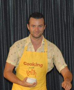 The one, the only... Keith Harkin. Taken by me on Celtic Thunder Cruise 2013
