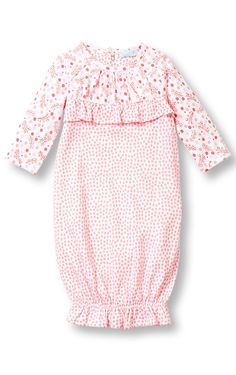 A beautiful baby gown for a newborn baby girl!