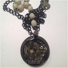Necklace made of a watch....cool