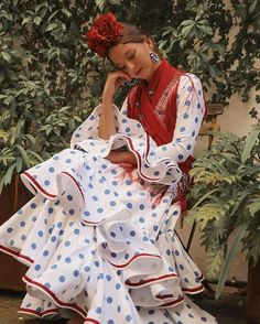 Dot Dress, Gypsy, Boho, Dresses, Style, Fashion, Flamingos, Combination Colors, Dressmaking
