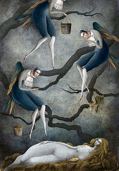 Mexican painter and illustrator Gabriel Pacheco is known as a surreal visionary painter. Illustration Courses, Book Illustration, Gabriel Pacheco, Art Academy, Fantastic Art, Illustrations And Posters, Gravure, Surreal Art, New Art