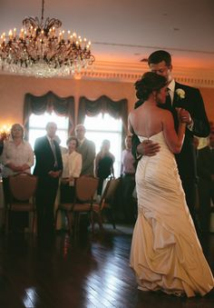 Nikki and Eric's first dance - Blue Bell Country Club Wedding - Reiner Photography