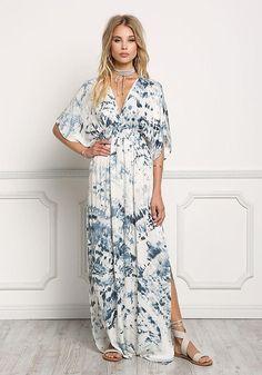 718db8099c Jastie Floral Print Frill Gown Midi Dress Cutout Back Boho Chic ...