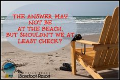 I think we should check there first! Call us to schedule your next #Vacation getaway to the #beach! #MyrtleBeach #VacationRental