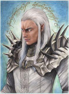 Аннатар Sauron Annatar by TeresaRa on DeviantArt
