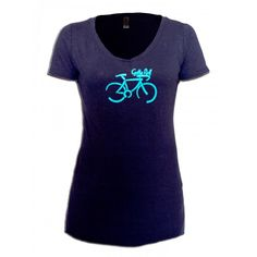 Gotta Roll Slub V-Neck Tee | Your Fitness Spot|$19.99| yourfitnessspot.com #yourfitnessspot #womensactivewear