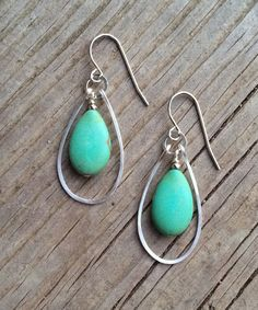 Hey, I found this really awesome Etsy listing at https://www.etsy.com/listing/180570510/boho-jewelry-turquoise-silver-earrings