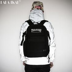 >>>best recommendedThrasher Canvas Backpack American Skateboard Backpack Brand Original Oxford Backpacks Unisex Street Backpack BME0280-5Thrasher Canvas Backpack American Skateboard Backpack Brand Original Oxford Backpacks Unisex Street Backpack BME0280-5Smart Deals for...Cleck Hot Deals >>> http://id389267051.cloudns.ditchyourip.com/32748394618.html images