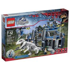 LEGO Jurassic World Indominus Rex Breakout Building Kit Box Set New #LEGO