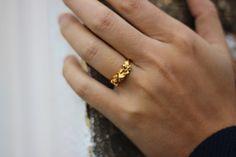 Little Band of Rocks Gold Ring - Designer Imogen Belfield - Shop at www.aprilandthebear.com Costume Rings, Ring Designs, Gift Guide, Fashion Forward, Gifts For Her, Gold Rings, Best Gifts, Rocks, Band